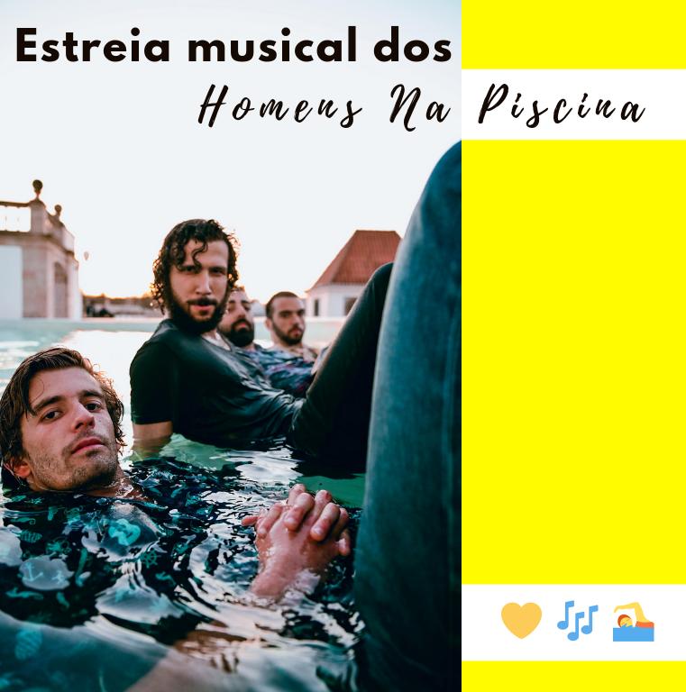 Homens Na Piscina
