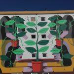 A arte urbana da rural Ilha Terceira